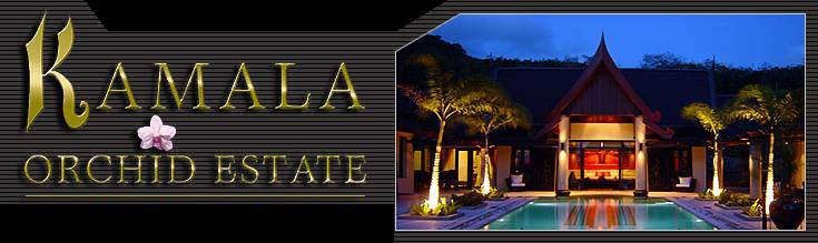 Phuket villas: Kamala-Orchid-Estate, home property in Thailand